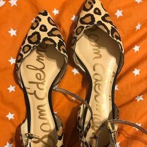 Sam Edelman Cal Hair Leopard Flats